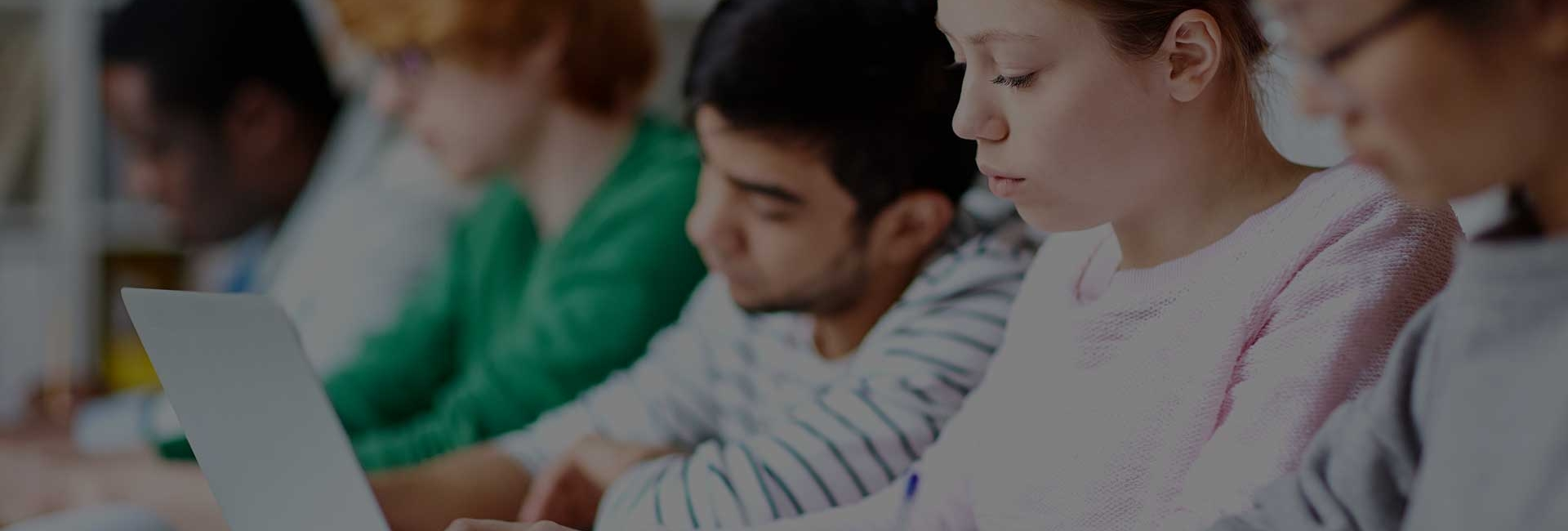 Students-Concentrating